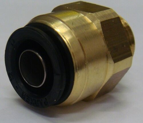 Air Brake Male Stud Connector  PARKER PRESTOMATIC 2 12mm Push-In x M22x1.5 Pk1