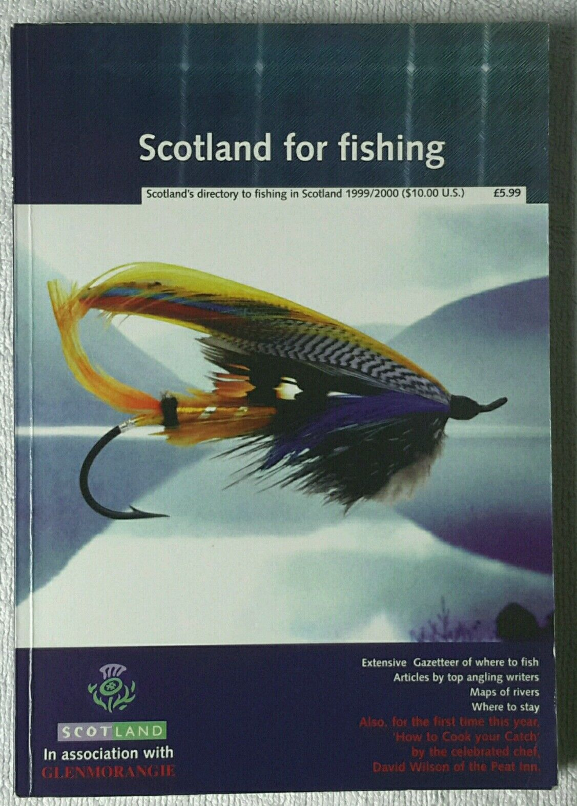 Scotland for Fishing 1999  2000 by Graham Wilson  free delivery