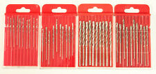 Jobber Drill Bits SE DHD11610 Grit 120 Diamond Coated HSS Set With 1/16-inch