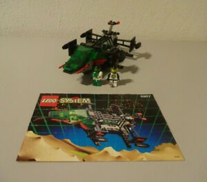 (Go) Lego 6897 Rebel Hunter Space Police 100% Kompett. With Ba Used KG