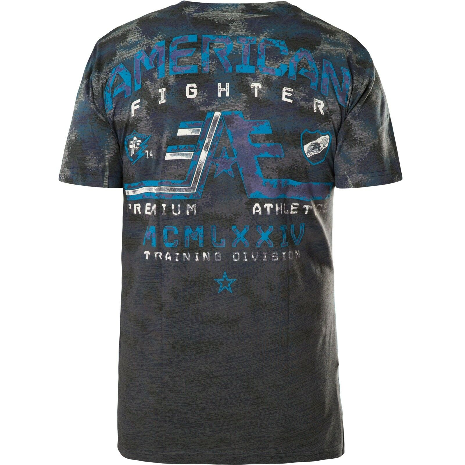 American Fighter Affliction T-shirt Wyoming Blu T-shirts T-shirts T-shirts 83555b