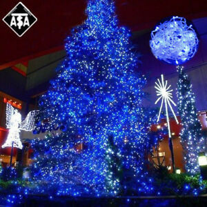 100-800LEDs Safe Copper Wire Christmas Tree Party Garden Decor Fairy ...