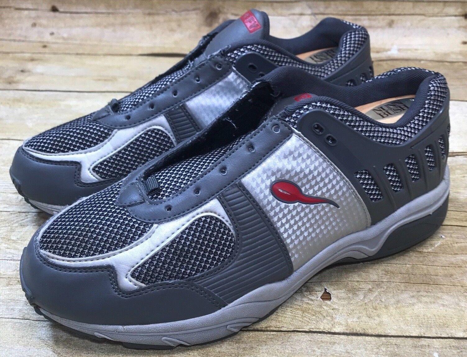 Gravedad desafían Sz 9 Atlético De Hombre Zapatos Para Caminar Ballistic gris Rojo esperma versoshock