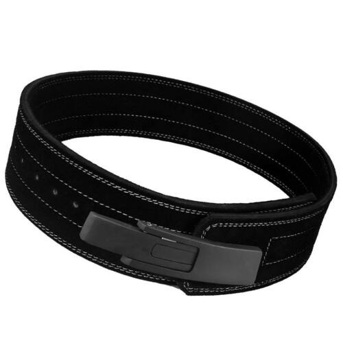 Cuir Poids Lifting Ceinture Dynamophilie Bodybuilding Fitness Gym /& formation BL