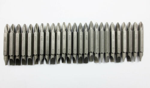 """25 pc 2/"""" PHILLIPS #2  SCREW DRIVER BITS TIP AND FLAT HEAD END PH2 6"""