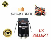 Spektrum AR6100e RECEIVER 6CH DSM2 2.4Ghz RC MICRO PLANE QUADCOPTER ORANGE R615x