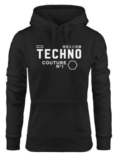 Techno con cappuccio-Maglione Hoodie Donna neverless ®