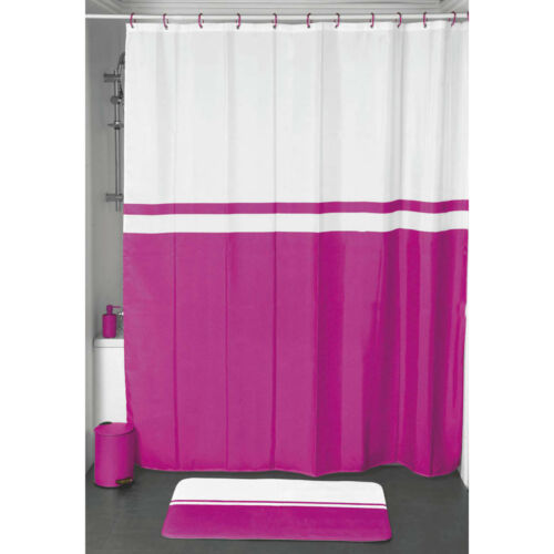 Evideco Shower Curtain Fabric Polyester 71/'/'W x 79/'/'L//  Multicolored Design