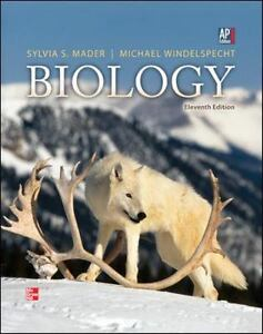 Ap biology mader biology by sylvia mader 2012 hardcover student ap biology mader biology by sylvia mader 2012 hardcover student edition of textbook fandeluxe Gallery