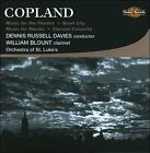 Copland: Music for the Theatre; Quiet City; Music for Movies; Clarinet Concerto (CD, Feb-2009, Numbus)