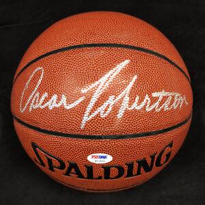 5669c226e Image is loading Oscar-Robertson-SIGNED-Spalding-I-O-Basketball-HOF-Royals-
