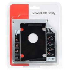 SATA 2nd 2.5'' Hard Drive HDD SSD Caddy for 12.7mm Universal CD/DVD-ROM