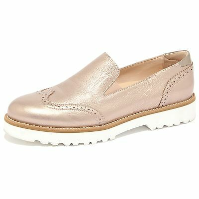 1507q Mocassino Hogan Route Pantofola Bronzo Scarpa Donna Loafer Woman