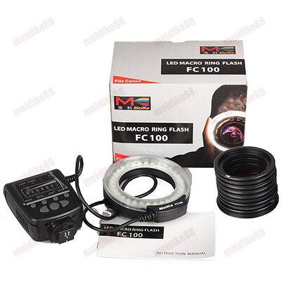 Meike Macro 32 LED Ring Flash Light FC-100 F Nikon D750 D7000 D7100 D5500 D3200