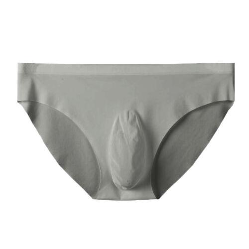 Mens Underwear Briefs Mid Waist Boxer Casual Underwear Briefs Bulge Pouch