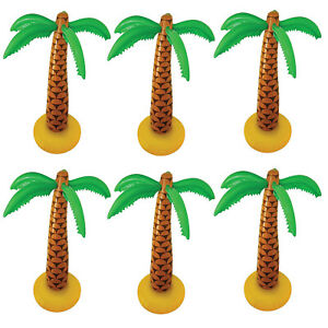 GIANT INFLATABLE PALM TREE PARTY BLOW UP FANCY DRESS HAWAIIAN DECORATION LOT
