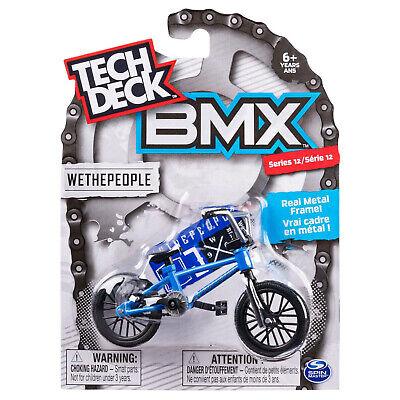 TECH DECK BMX WETHEPEOPLE SERIES 13  BNIP BLUE BIKE AND BLACK TYRES  METAL FRAME
