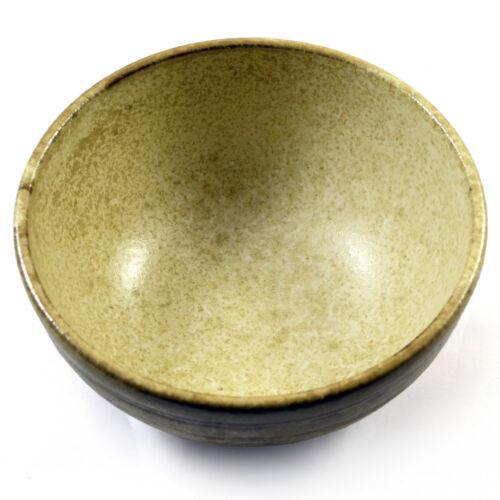Beige Glasierte Keramik Beringt Japanische Nudel /& Ramen Suppe /& Sushi-Schale