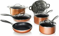 Gotham Steel Copper Cast 10 Piece Nonstick Cookware Set