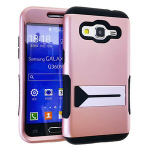 Samsung-Galaxy-Prevail-LTE-G360-Core-Prime-HYBRID-ARMOR-CASE-COVER-ROSE-GOLD