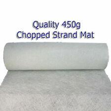 450gm CHOPPED STRAND MAT FIBREGLASS MATTING 10mtr x1mtr