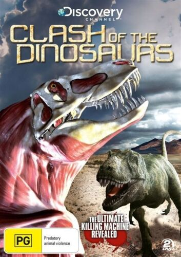 1 of 1 - Clash Of The Dinosaurs (DVD, 2011, 2-Disc Set) New Region 4