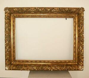 130 x 103 cm DIPINTO CORNICE ANTICO CORNICE BAROCCO klassizimus FOTO ORO
