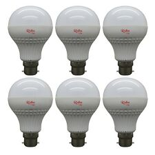 6 PCS OF RIDHU SUPER BRIGHT 12W LED BULB B22 WHITE 12W BULB FOR HOME AND OFFICE
