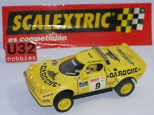 Elektrisches Spielzeug Dashing Fn Scalextric Spain Planet Rally Mythische Spanien Lancia Srtratos #9 Caroche Latest Technology