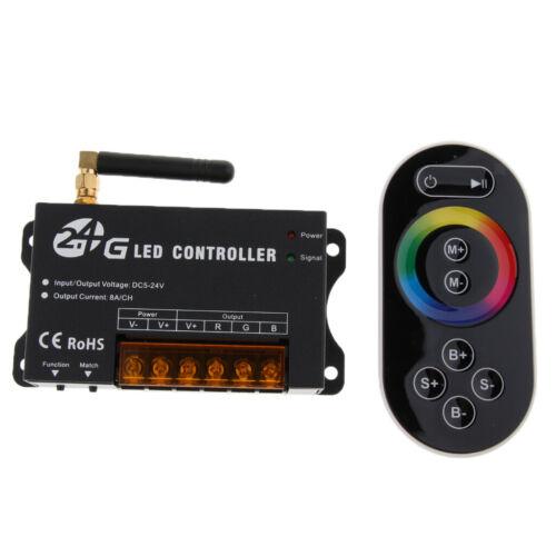 2.4G Touchscreen RGB LED Streifen Controller Drahtlose Fernbedienung