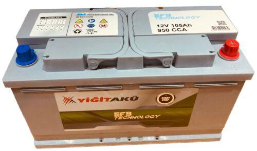 Car Battery 12V 105Ah 850A Type 019 MERCEDES AGM VartA G14 eq Stop Start EFB