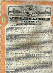 Bavarian-Palatinate-Cons-Cities-1926-Gold-Bond-1000-orange