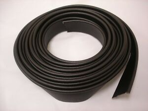Street Rod Black Crushed Grain Vinyl Fender Welt Welting