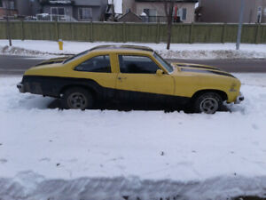1978 Chevy Nova Hatchback Project