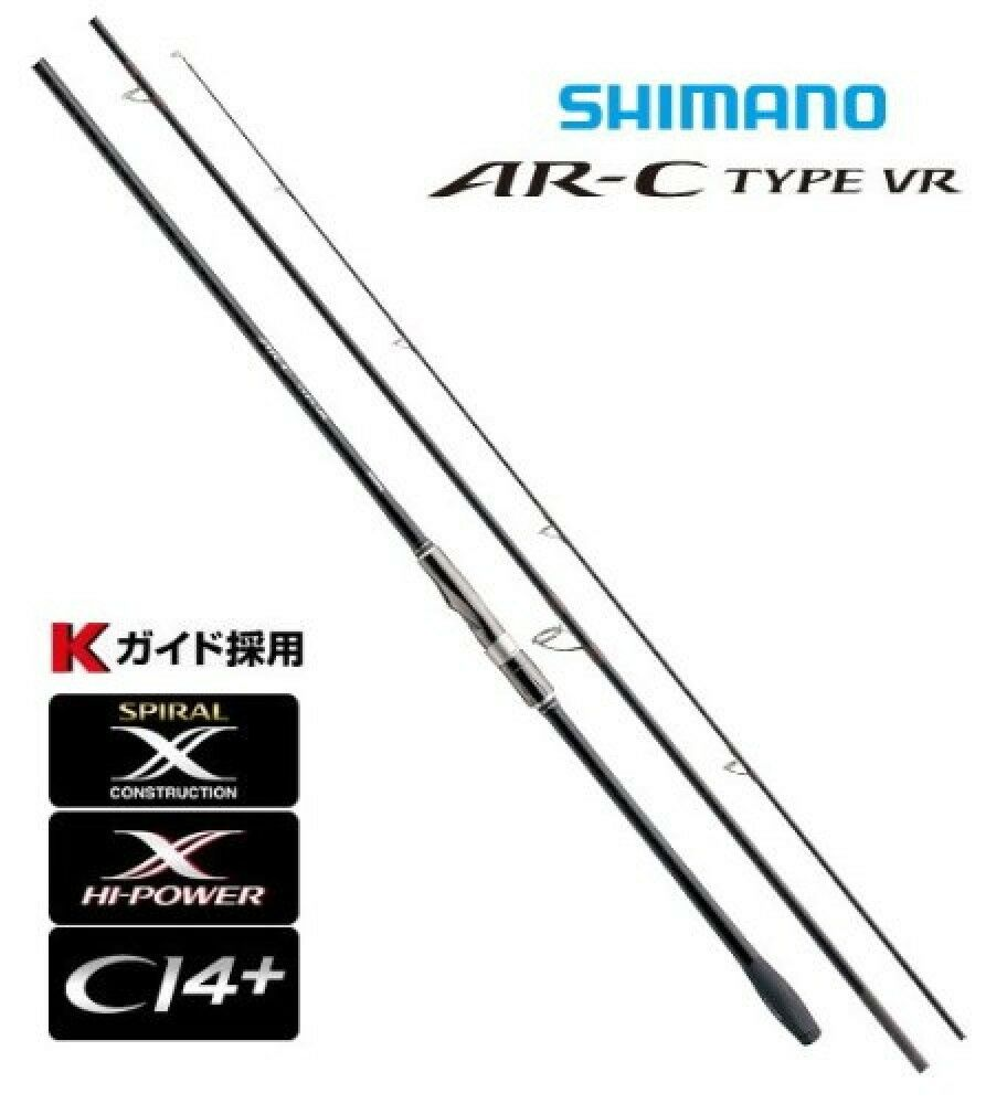 Shimano AR-C TYPE VR S904M  Medium saltwater fishing spinning rod From Japan F S