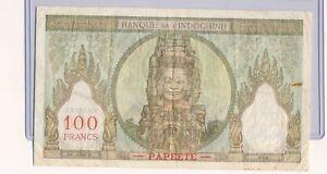 RC0222 Tahiti 1939 ~65 1000 Francs 14d combine