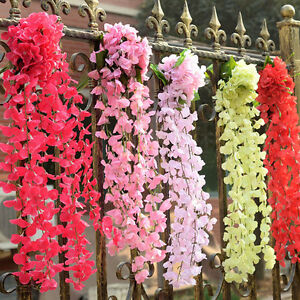 how to make flower hanging garland