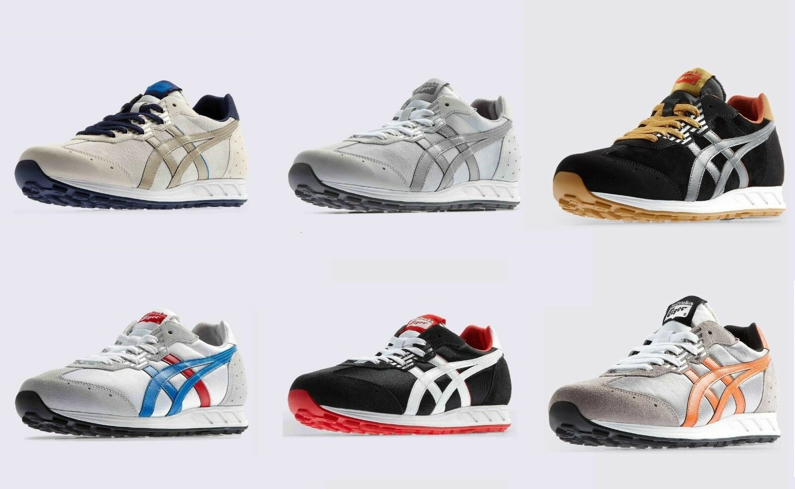 shoes ONITSUKA TIGER STORMER CUIR NYLON D3R0L MEXICO 66 SOLDES SAMPLE