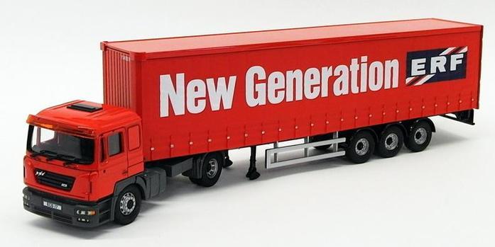 CORGI MODERN Transport Lourd CC12701ERF ECS Curtainside nouvelle génération échelle 1 50