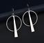 1-Pair-Elegant-Fashion-Women-Geometric-Gold-Circle-Dangle-Earrings-Jewelry thumbnail 7