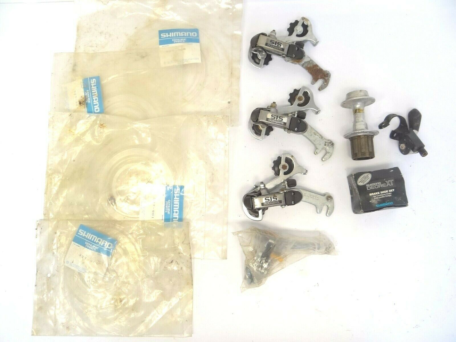 Vintage Lot Shimano  Deore FH-MT60 Rear Hub Uniglide Caliper Bike Derailer Parts  fast delivery and free shipping on all orders
