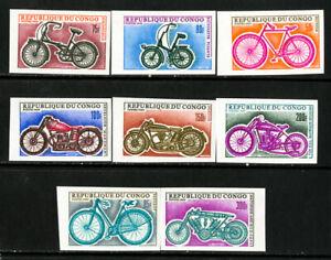 Congo-Stamps-183-90-VF-OG-NH-Imp
