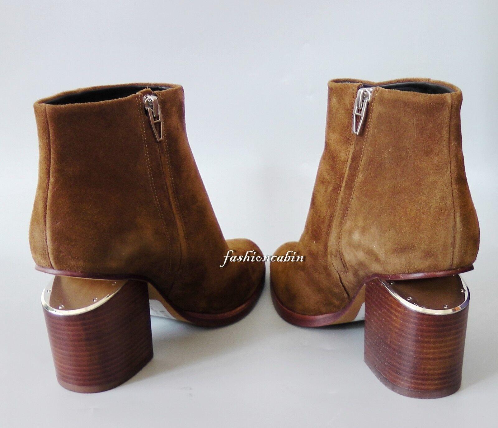 prezzo più economico New ALEXANDER WANG Gabi Suede Ankle Ankle Ankle stivali scarpe, Truffle, EUR 38, retail  675  esclusivo