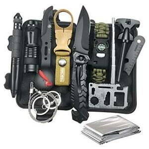 Gifts for Men Dad Husband, Survival Gear and Equipment 12 in 1, Survival Kit,