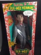 Talking Pee Wee Herman From Pee Wee's Playhouse  # 3500 by MatchBox  NIB