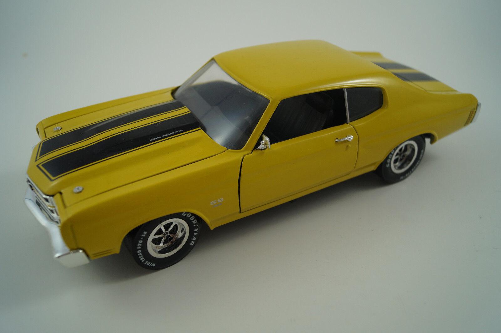 Ertl maqueta de coche 1 18 chevroelt Chevelle 1970