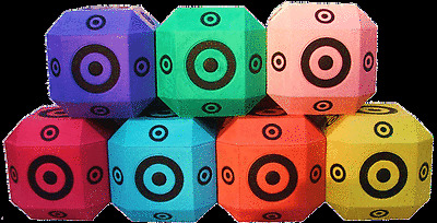 38 CUBE BUSH BOW 3D - SELF HEALING ARCHERY TARGET - AUST MADE AND OWNED
