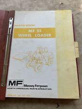 Massey Ferguson Mf 55 Wheel Loader Parts Manual