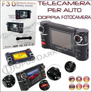 TELECAMERA-DOPPIA-VIDEOCAMERA-DVR-SCATOLA-NERA-LED-PER-BMW-X3