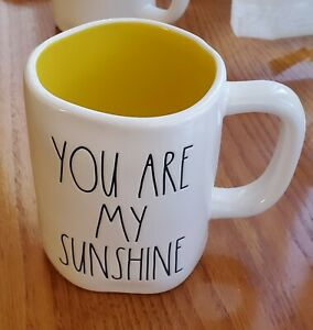 Rae-Dunn-by-Magenta-LL-Ceramic-YOU-ARE-MY-SUNSHINE-Coffee-Mug